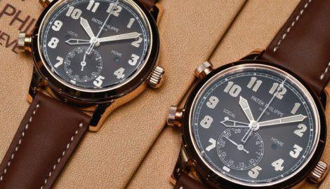 Reviewing of Top Patek Philippe Calatrava Pilot Travel Time Ref. 5524R Replica Watch