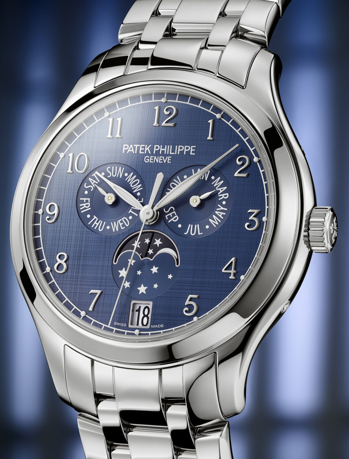 Perfect New Patek Philippe  Ref. 4947/1A-001 Annual Calendar Replica Watch In Stainless Steel