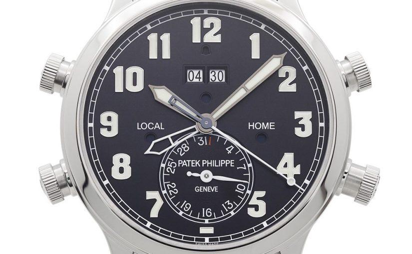 Patek Philippe Replica Watches Ref. 5520P Alarm Travel Time